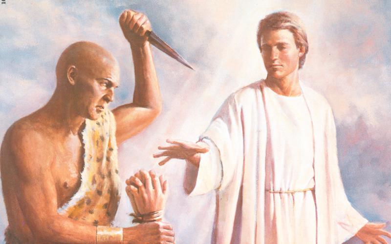 104: Ангел спасает Авраама
