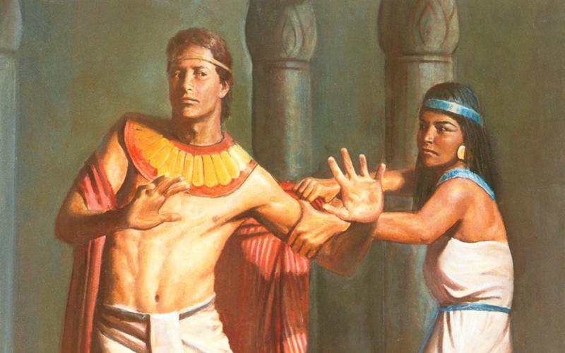 110: Иосиф отвергает жену Потифара