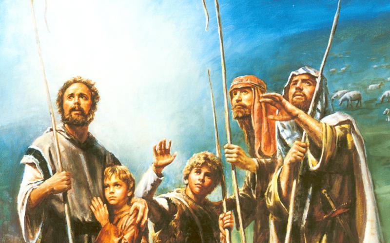 202: Пастухам объявлено о рождении Христа
