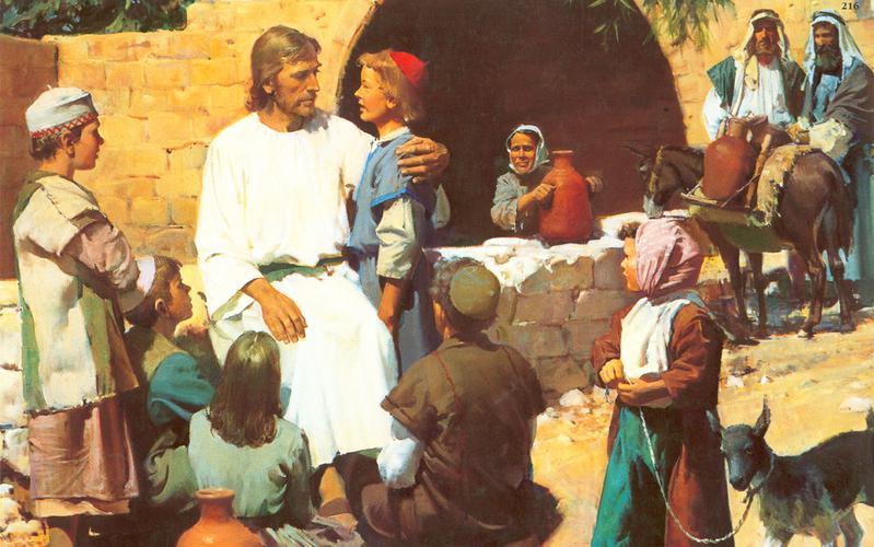 216: Христос и дети