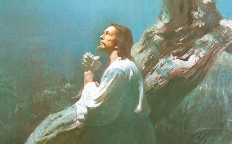 227: Молитва Иисуса в Гефсиманском саду