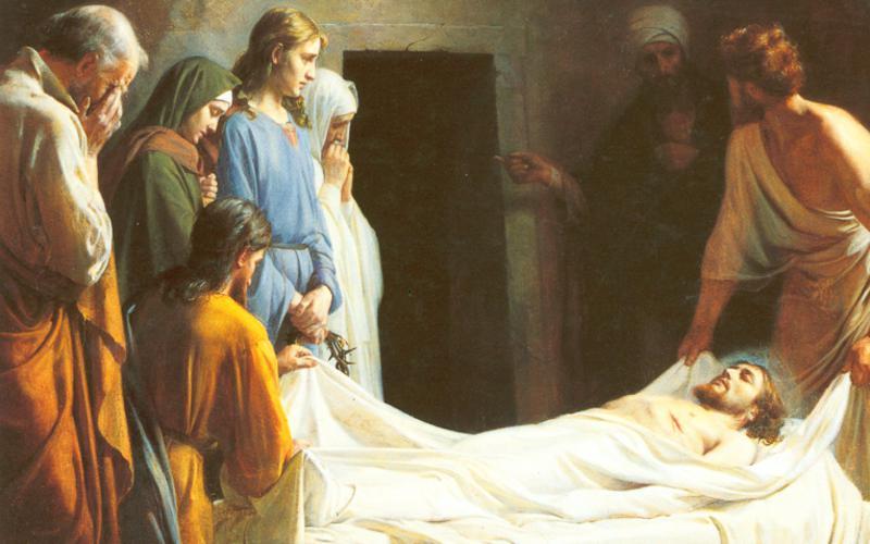 231: Погребение Иисуса