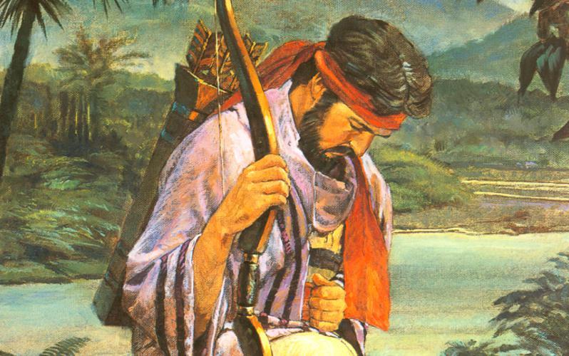 305: Енос в молитве