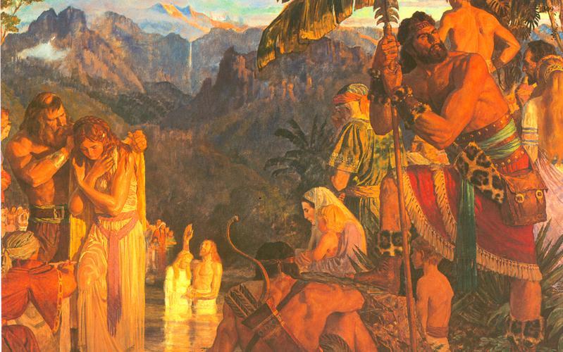 309: Алма крестит в Водах Мормона