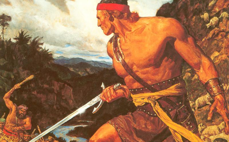 310: Аммон защищает стада царя Ламония