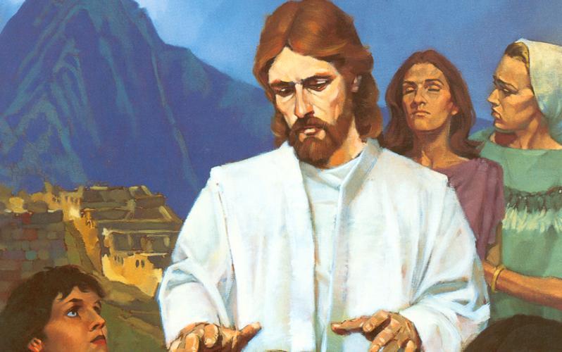 317: Иисус исцеляет Нефийцев
