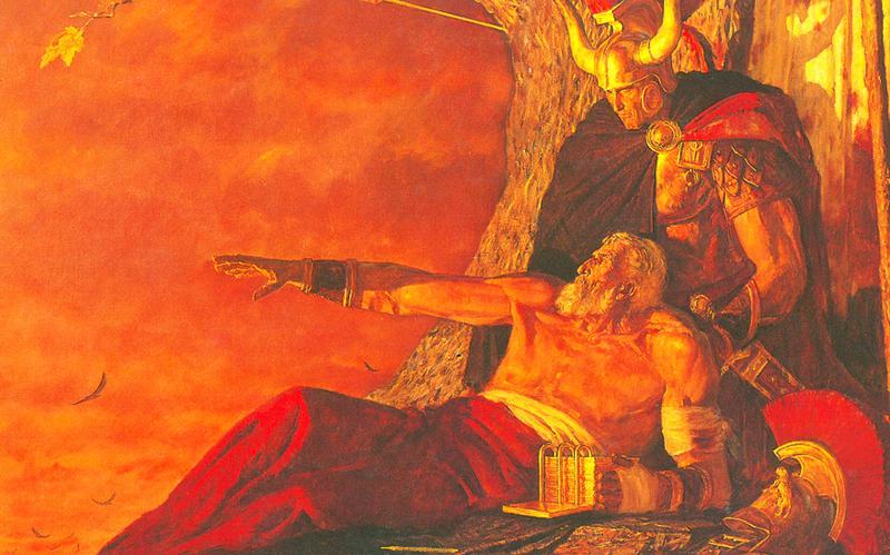 319: Мормон прощается с некогда великим народом
