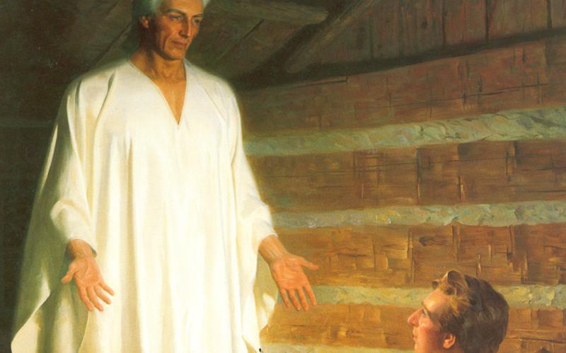 404: Мороний является Иосифу Смиту в его комнате