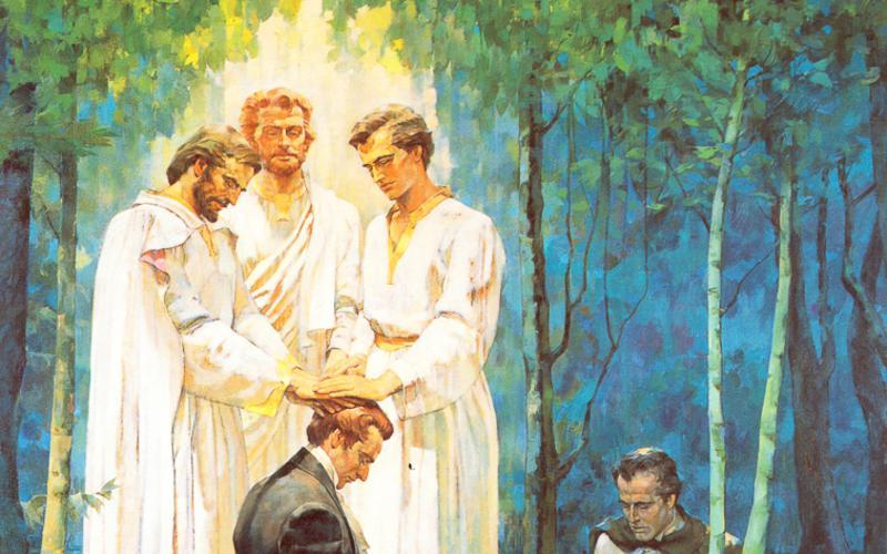 408: Восстановление Священство Мелхиседекова