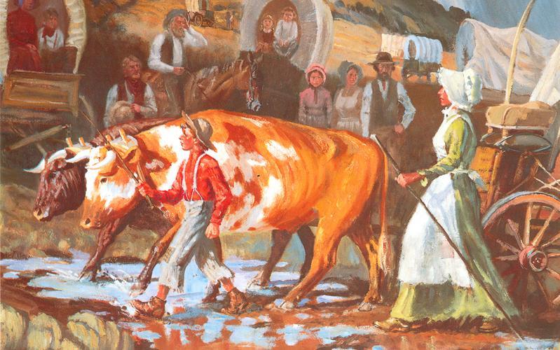 412: Мэри Филдинг и Джозеф Ф. Смит пересекают равнины