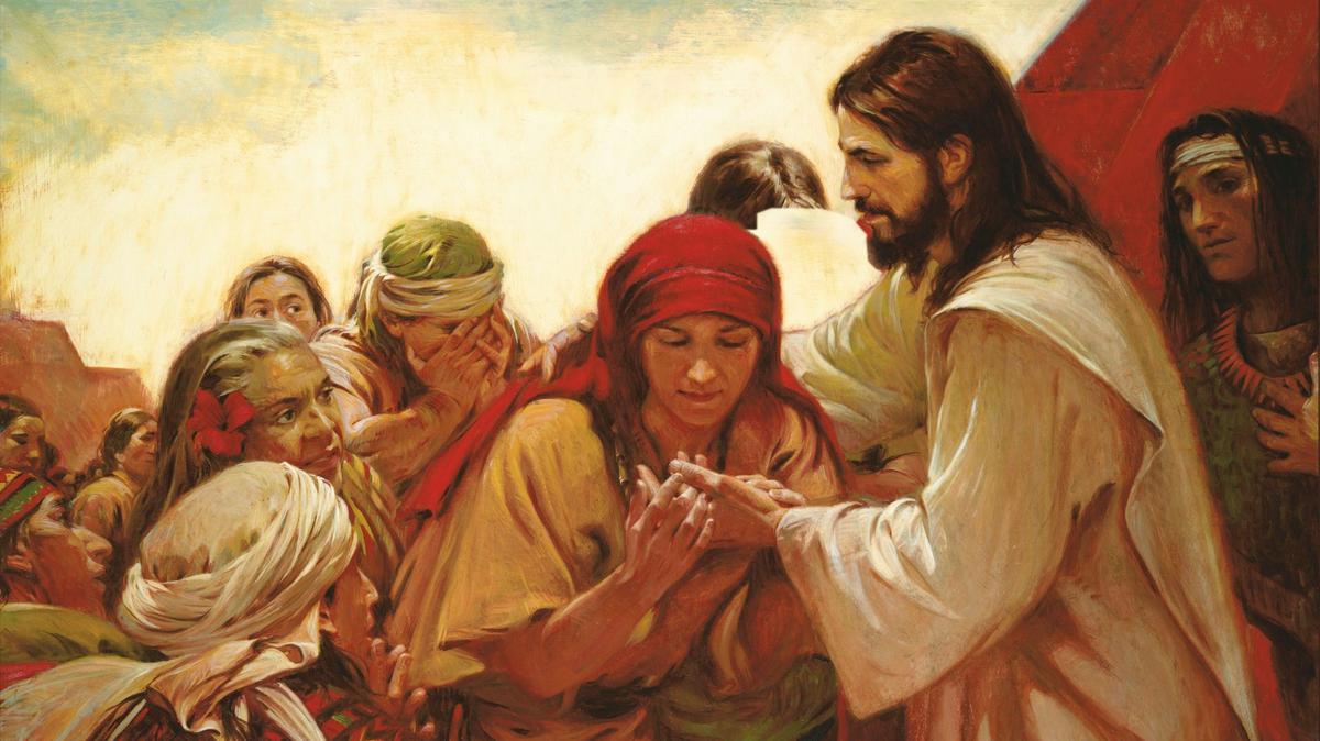 Kristus haigeid tervendamas