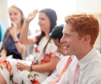 Jugendliche in der Sonntagsschulklasse