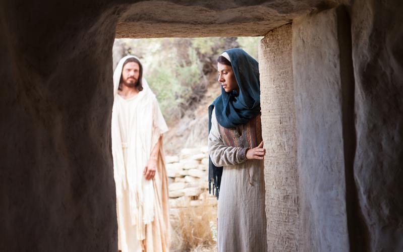 Maarja Jeesuse haual
