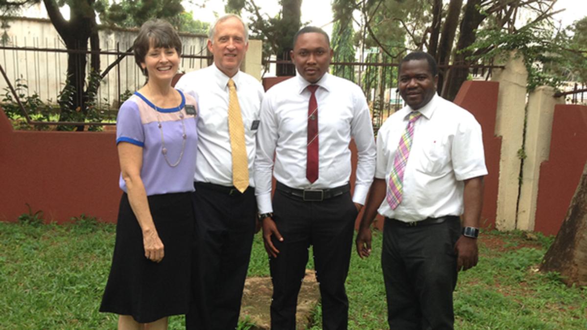 Mon expérience au Nigeria Par Sœur Michelle Clark
