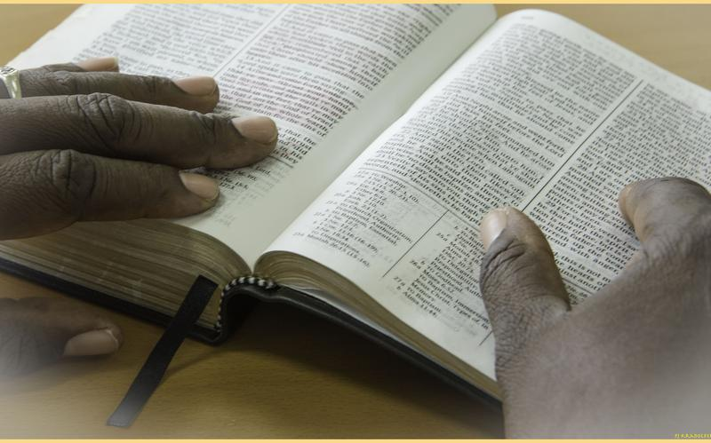 Studying scriptures image