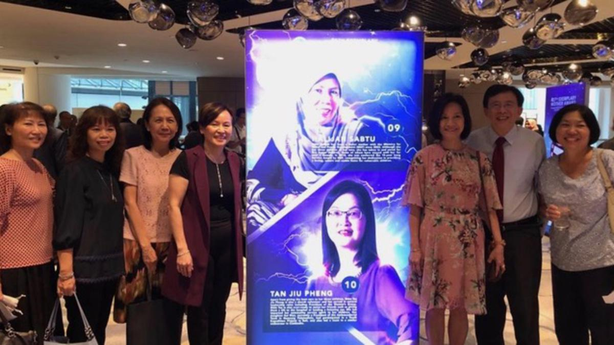 Two sisters win Jamiyah Singapore's Exemplary Mother Award prizes