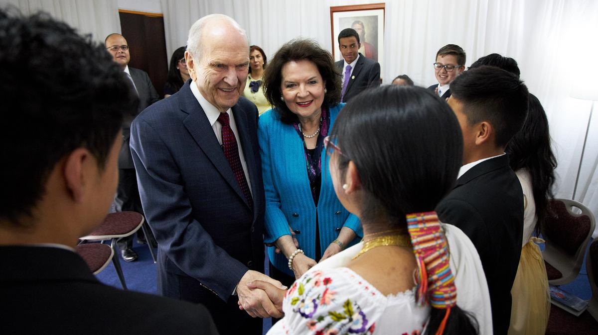 President Russell M. Nelson's 2019 Latin America Ministry