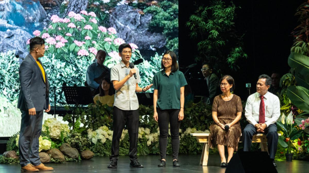 "Awesome ""Good Garden Concert"" concluded the 50th anniversary celebration of the Church in Singapore"