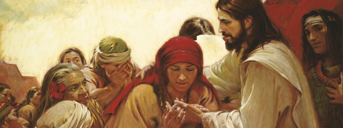 納爾遜會長邀請所有的人參加總會大會,因神所啟示的真理而歡欣