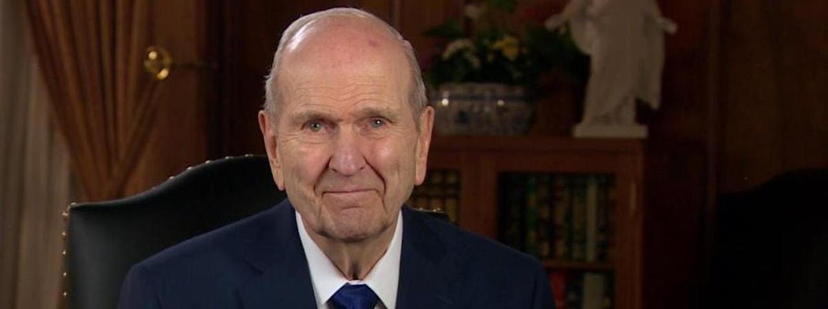 President Russell M. Nelson extends an invitation for a worldwide fast