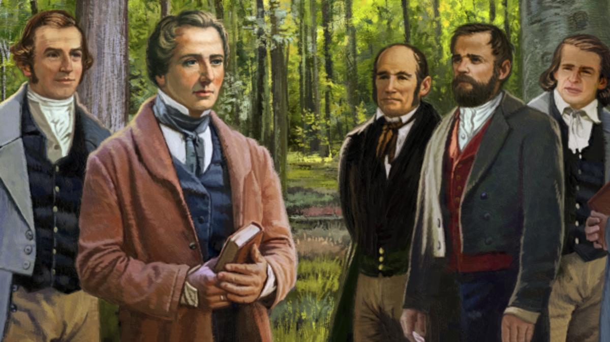 Tranh minh họa Joseph và các Vị Sứ Đồ của Dan Burr