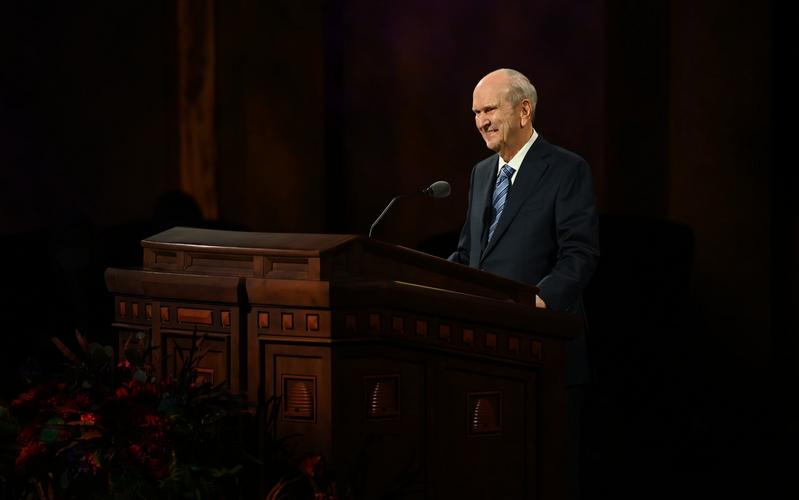President Nelson at October General Conference: Let God Prevail, Embrace the Future, Live 'a New Normal'