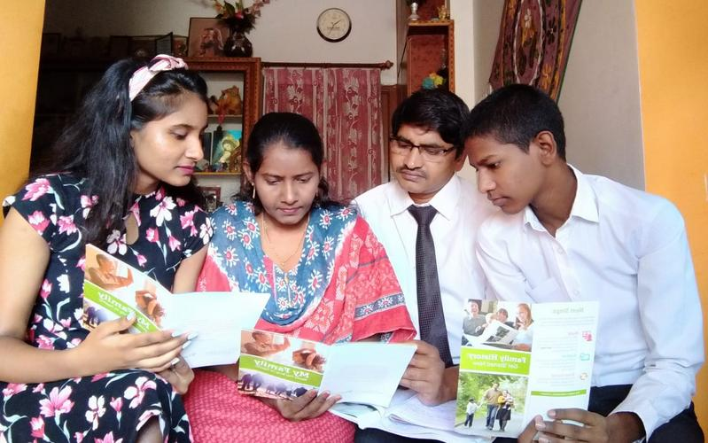 Youth Across India Participate in Family History