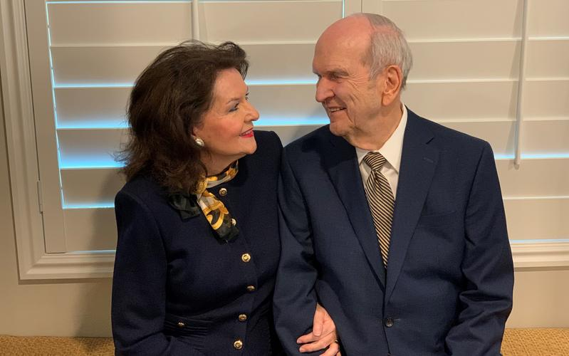 President Russell M. Nelson and Sister Wendy W. Nelson Share a Message about the Sacrament