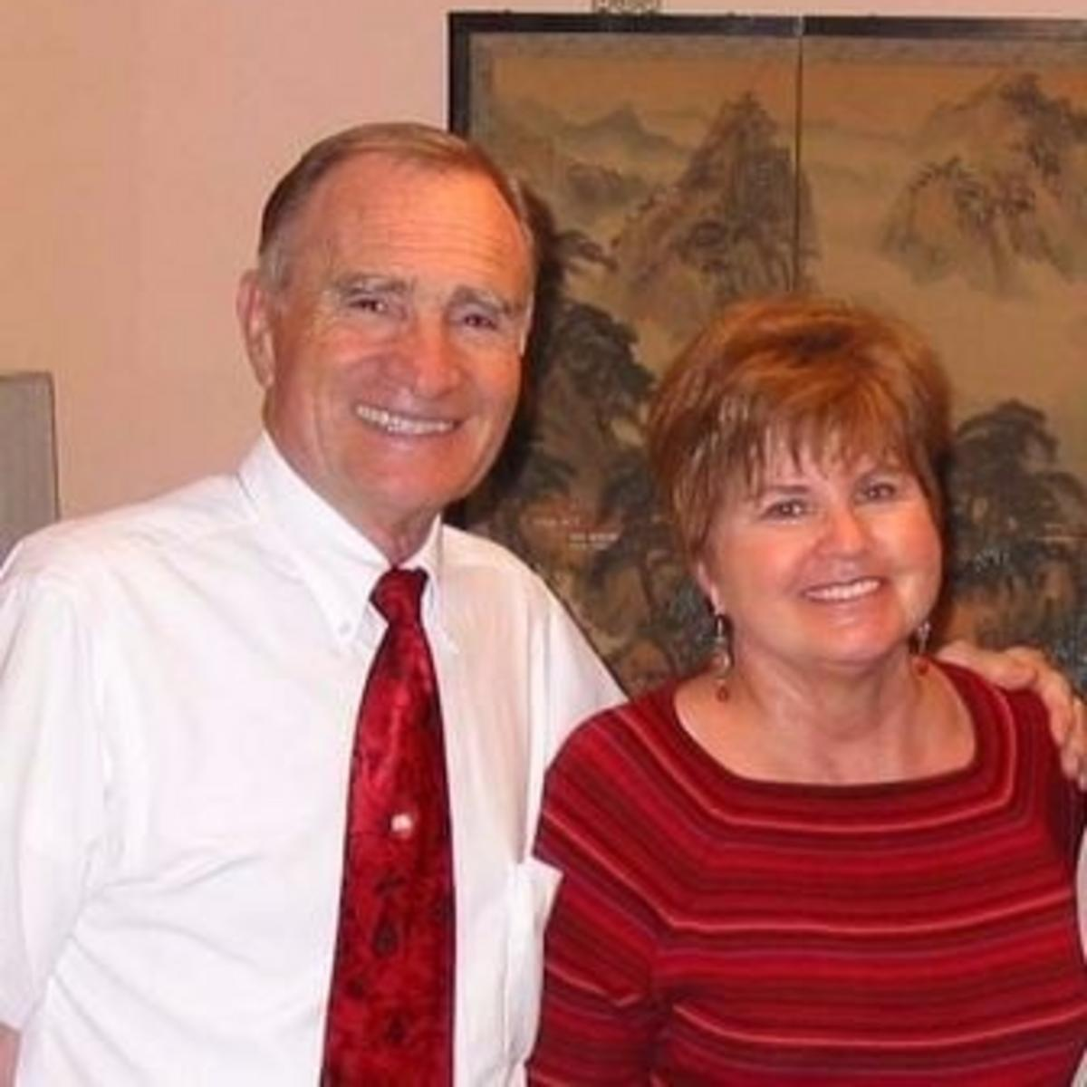 翟會長和妻子