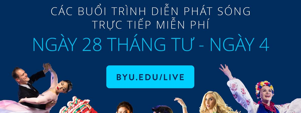 Chuyến Lưu Diễn Toàn Cầu Trực Tuyến của Khoa Nhạc và Múa Trường BYU năm 2021