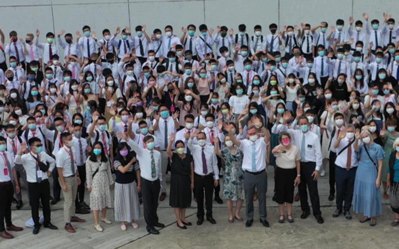 在香港鞏固青年大會(FSY)期間,青少年對基督的見證飆升