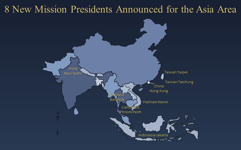 Giáo Hội Công Bố Tám Vị Chủ Tịch Phái Bộ Truyền Giáo Mới cho Giáo Vùng Châu Á