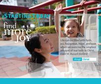 #StartingToday, Find More Through Christ Posters