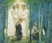 Members of the Church of Jesus Christ of Latter-day Saints  believe that heavenly messengers bestowed God's priesthood on Joseph Smith and Oliver Cowdery in 1829.