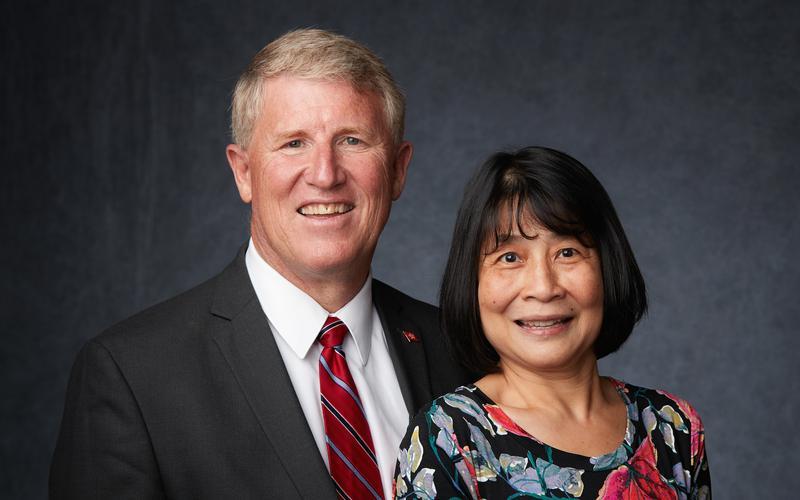 Pres Dennis Lyn Phillips & Sister May Lan Lo Phillips