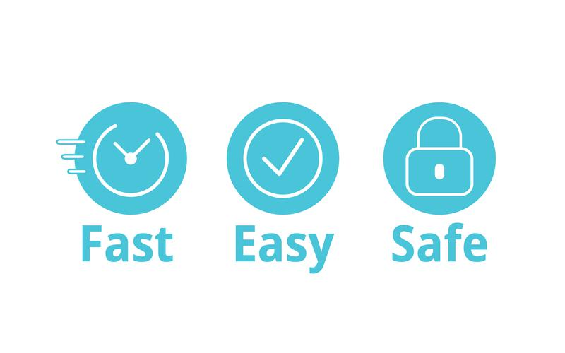 better faster safer icon