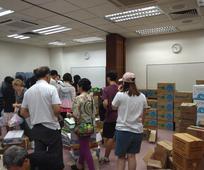 物資援助澳門教會成員及居民
