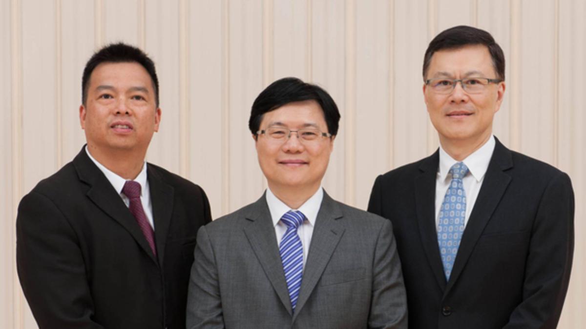中國香港港島支聯會會長團