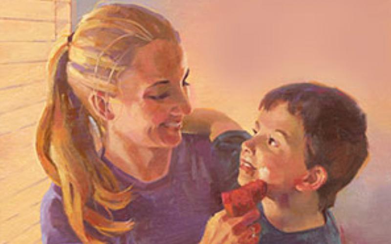 總會領袖:「我的母親教導我」