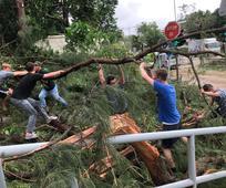 颱風山竹: 傳教士在全港提供服務
