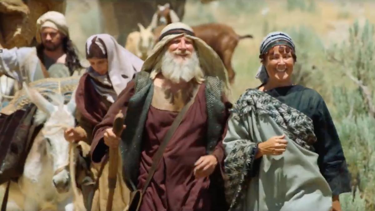 以實瑪利一家人加入李海的家庭 | 尼腓一書第7章