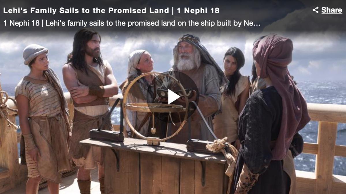 李海一家人航向應許地 | 尼腓一書第18章