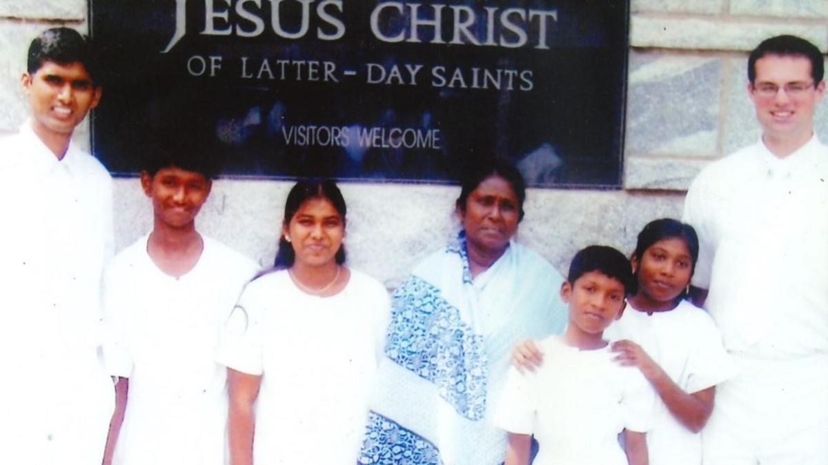 Image of Mungamuri Family Baptism day