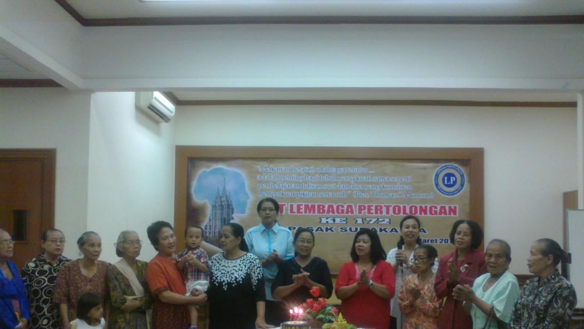 HUT Lembaga Pertolongan ke-172 Pasak Surakarta