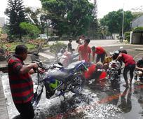 Cuci Motor Gratis