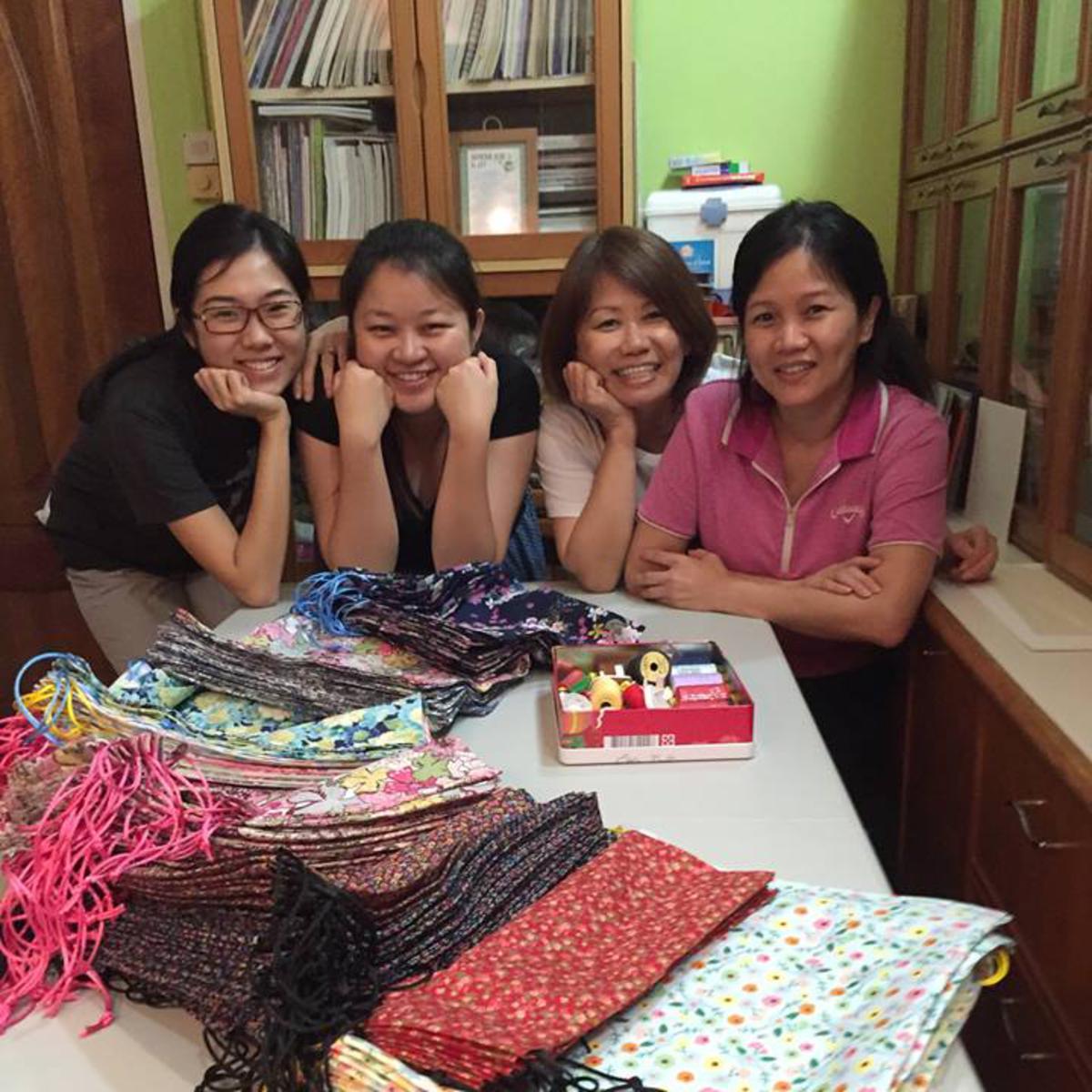 Preparing GirlsforDays kits in Singapore (720x960).jpg