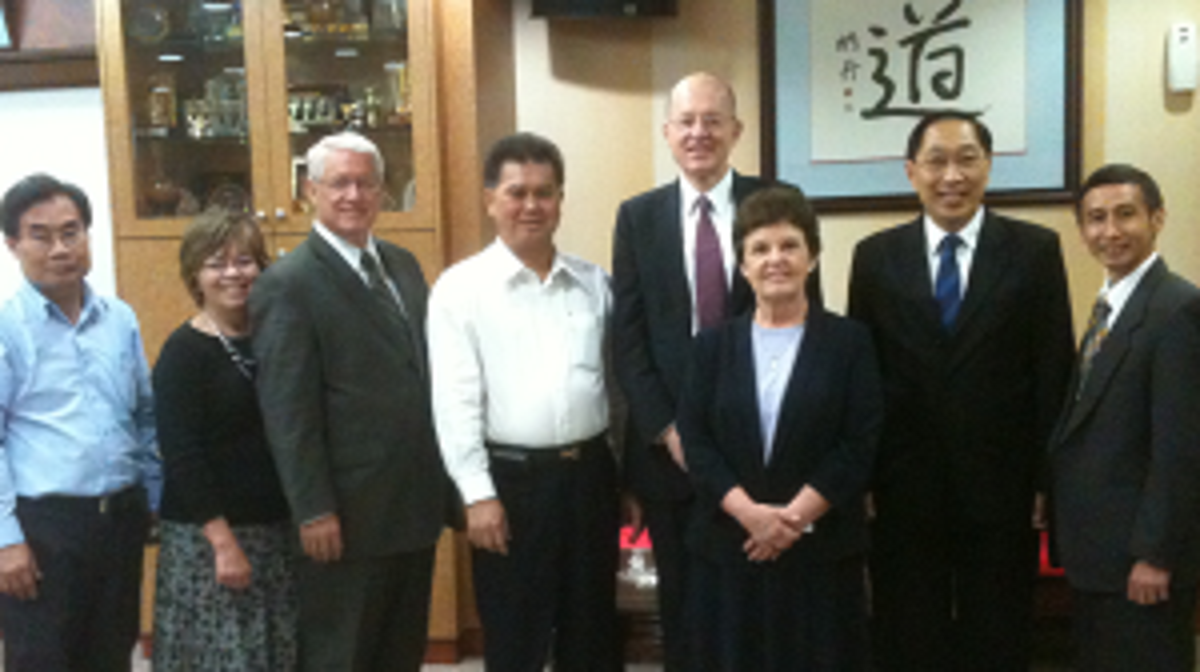 Church Leaders Paid Courtesy Call on Chairman of Singapore Taoist Federation