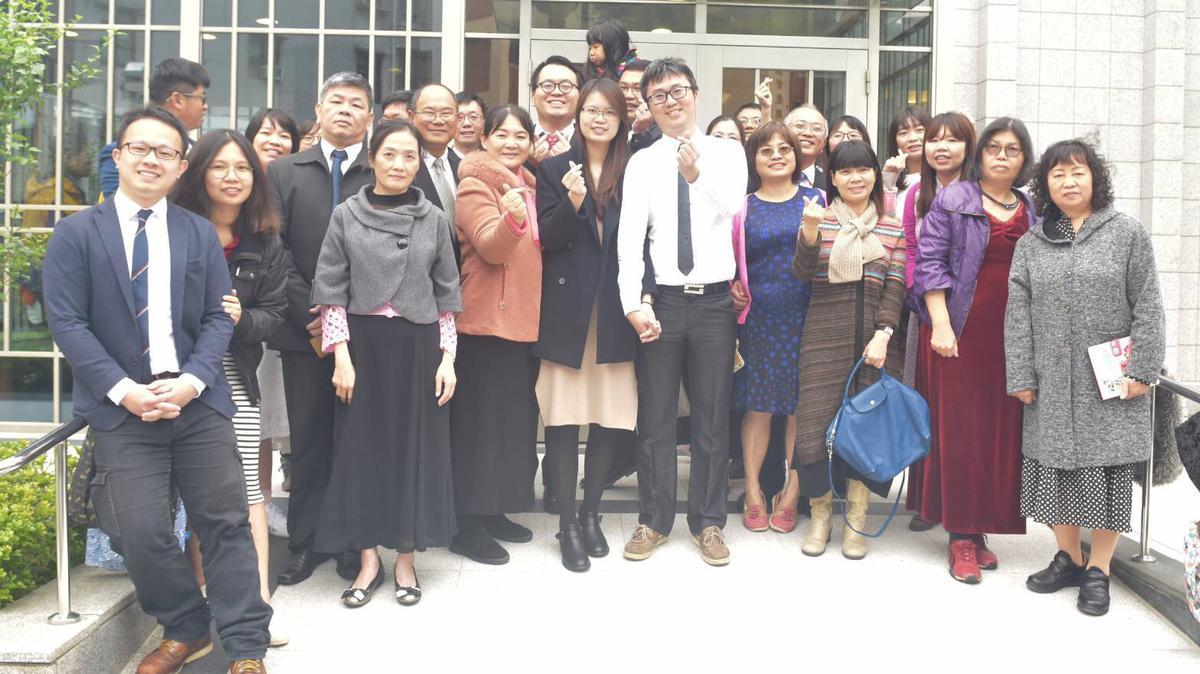 聖殿婚姻見證—倪志慶與陳思汎