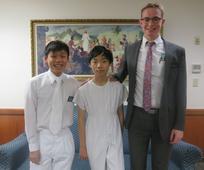 洗禮後與去傳教的祝福