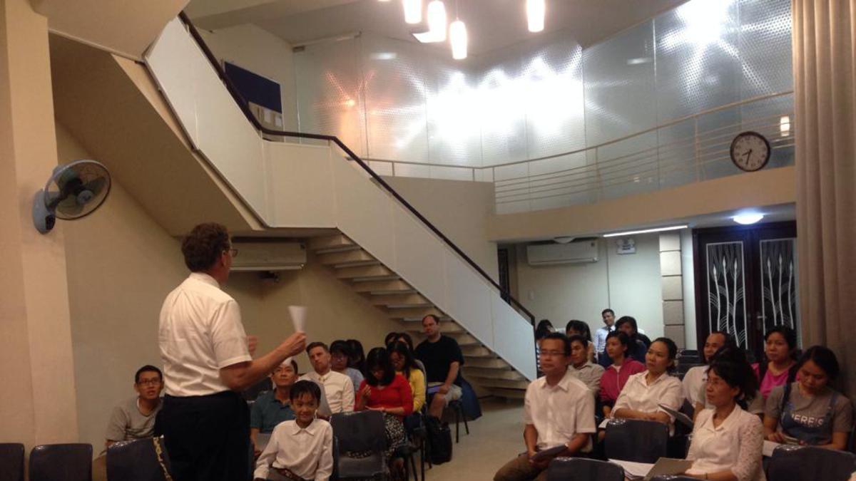 Lớp Học Gia Đình Hạnh Phúc – Nơi Củng Cố Gia Đình
